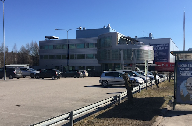 Arena Centerillä on kolme toimipistettä Helsingissä: Myllypurossa (kuvassa), Hakaniemessä ja Ruskeasuolla.
