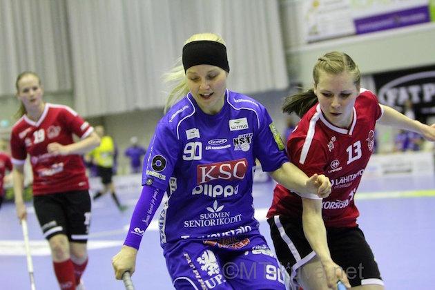 Juuli Hakkaraiselta puuttuu kaapista SM-kulta. Kuva: Markku Taurama.