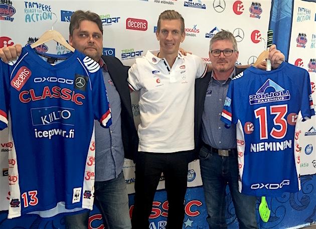Jarkko Nieminen pelaa numerolla 13 Classicissa. Kuva: Jussi Ojala