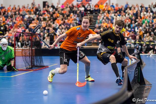 Rasmus Kainulainen pukee päälleen LaSBin oranssia ensi kaudellakin. Kuva: Jari Turunen.