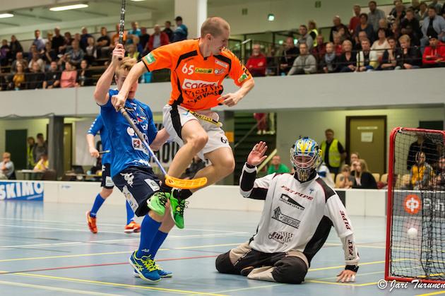 Janne Karvonen pelasi Divarissa viimeksi SB Vaasan paidassa kaudella 2014-15. Kuva: Jari Turunen.