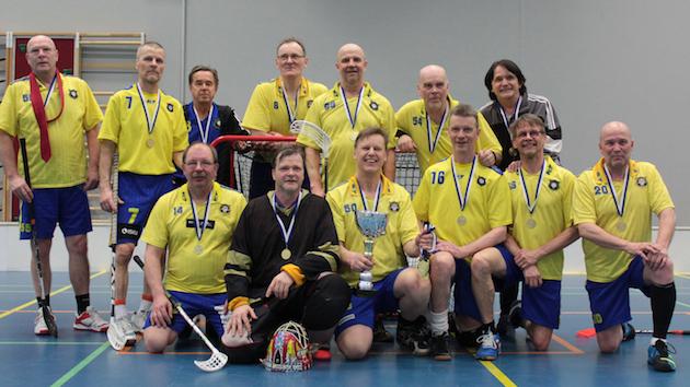 Teräsmiehiä Oulusta. Merikoski SBT voitti M60-sarjan mestaruuden. Kuva: Olli Junttila