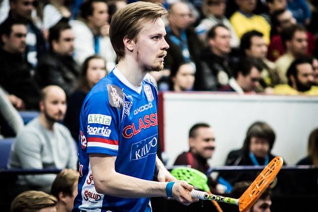 Mikko Leikkanen oli vahvassa iskussa, kun Suomi kaatoi Tshekin lukemin 8-4. Kuva: Anssi Koskinen