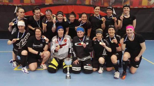 Toivot Jyväskylästä nappasi N30-sarjan kultaa toisen kerran peräkkäin. Joukkue koostuu pitkälti Happeen vanhoista liigapelureista.