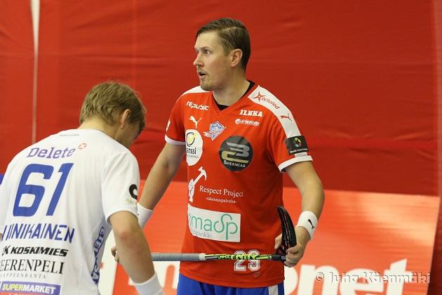 Mika Kohonen ei pelaa Seinäjoen Peliveljissä kaudella 2016-17. Kuva: Juha Käenmäki.