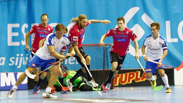 Superfinaali on Classicin ja Oilersin 18. keskinäinen kohtaaminen pudotuspelihistoriassa. Kuva: Juhani Järvenpää.