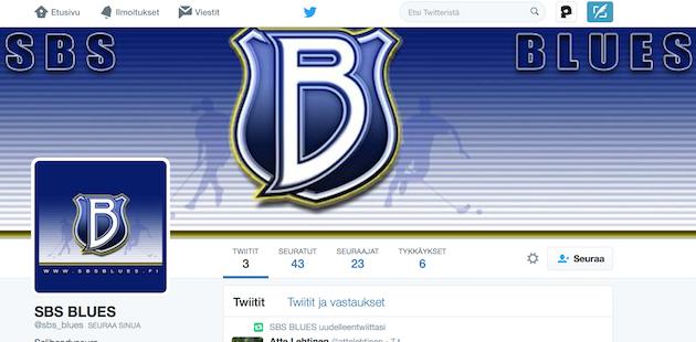 SBS Bluesilta löytyy jo Twitter-tili.