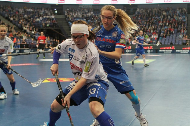 NST:n sijaan Boråsissa pelattavaan Champions Cupiin matkaa Tampereen Classic. Kuva: Salibandyliiga