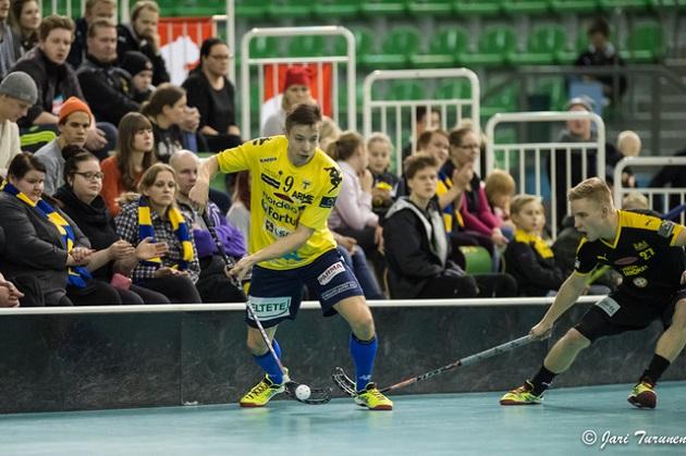 Dan Forsström pelaa ensi kaudella ÅIF:ssa. Kuva: Jari Turunen