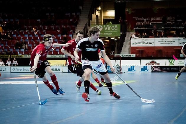 TPS:n Eero Jalo on yksi leirille valituista pelaajista. Kuva: Anssi Koskinen