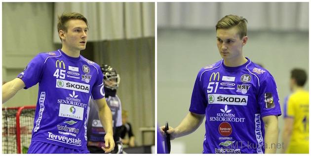 Perttu Kytöhongan ensi kaudella valmentama NST menettää kaksi pelaajaa Ruotsiin. Kuvat: Markku Taurama / mt-kuva.net