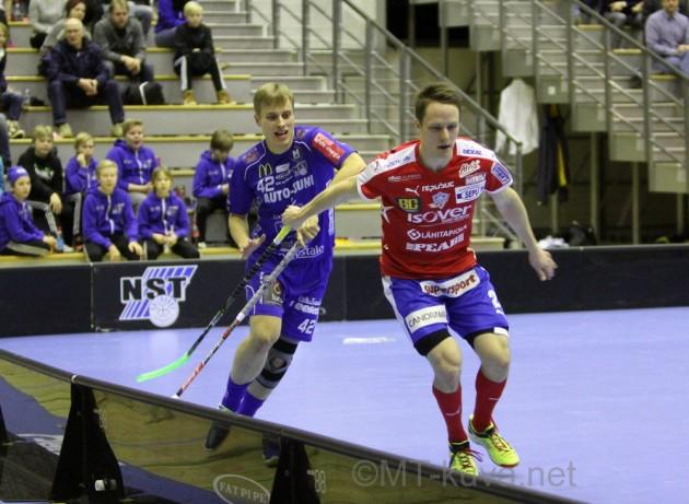 Divariin pudonnut Lappeenrannan NST menettää viime kauden pistelinkonsa, Jarkko Nurmelan. Kuva: Markku Taurama