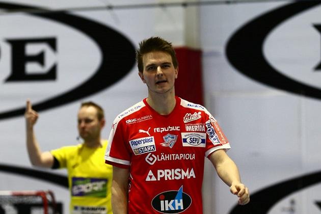 Jalo Kouvonen pelaa ensi kaudella Jyväskylän Happeessa. Kuva: Juhani Järvenpää