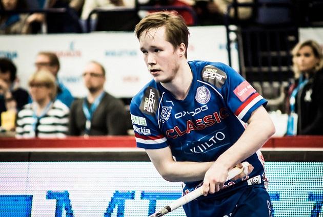 Classicin Krister Savonen oli Pääkallo.fi:n puolustajien TOP 5-listan viides. Kuva: Anssi Koskinen