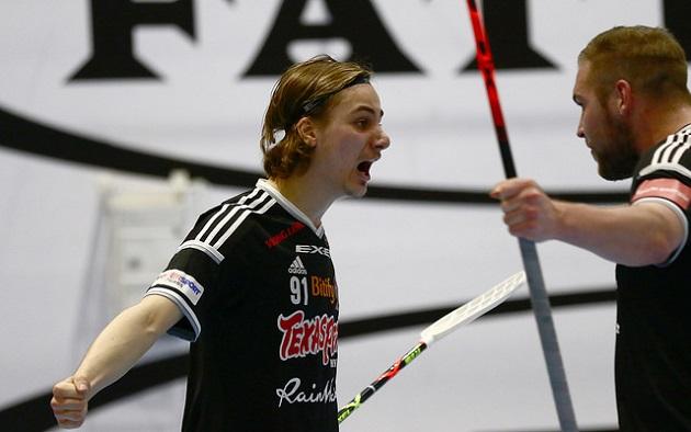 Kevin Söderling pelaa ensi kaudella EräViikingeissä. Kuva: Juhani Järvenpää