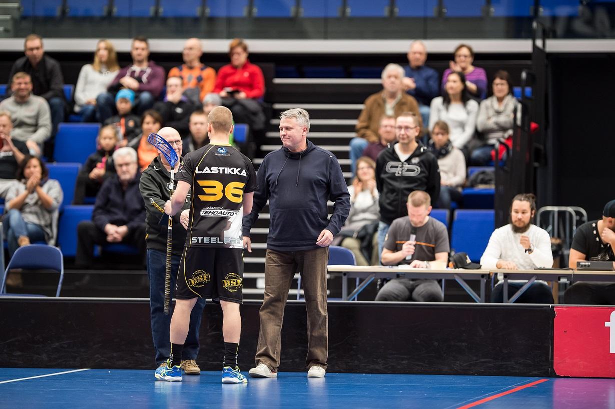 Moneen suuntaan huhuttu Ville Lastikka siirtyy alkavaksi kaudeksi Sveitsiin. Kuva: Jari Turunen