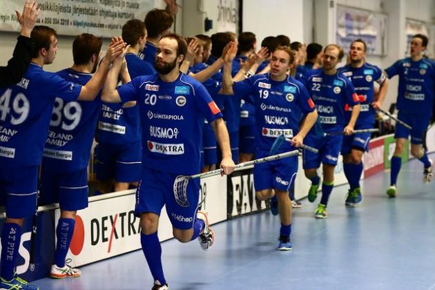 Mikko Pasasen (20) liigaura jatkuu ensi kaudella toisessa helsinkiläisseurassa. Kuva: Juhani Järvenpää