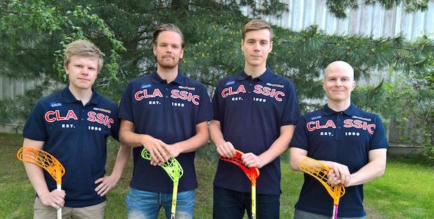 Joonas Pylsy, Asser Jääskeläinen, Miro Lehtinen ja Riku Reunamäki. Kuva: Juha Sirkka