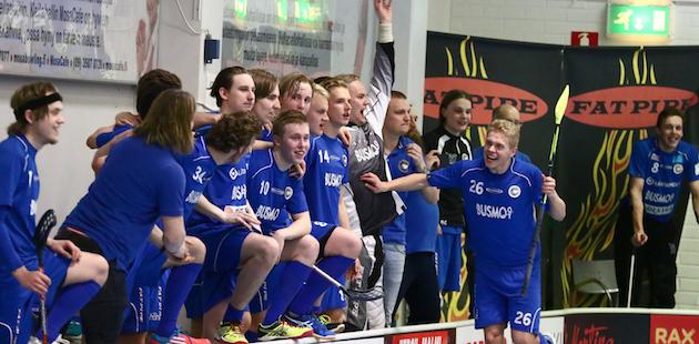 Tapanilan Erä juhli keväällä A-poikien SM-kultaa. Kuva: Juhani Järvenpää