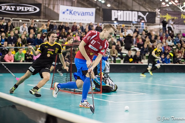 Ville Salosen jatko Karhuissa on joukkueelle tärkeä uutinen. Kuva: Jari Turunen.
