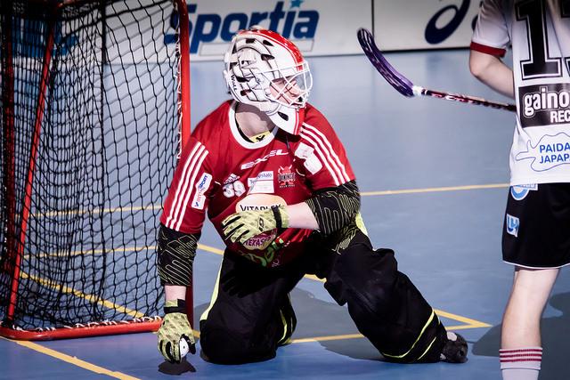 Kristian Krogius pelaa ensimmäisen kautensa ulkomailla. Kuva: Anssi Koskinen.
