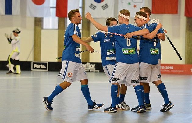 Suomi kaatoi Ruotsin MM-finaalissa maalein 5-4 ja. Kuva: IFF