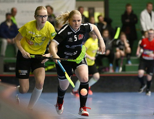 Silja Eskelinen edustaa ensi kaudella sveitsiläistä Piranha Churia. Kuva: Juhani Järvenpää