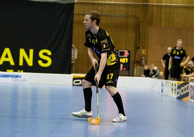 Tuomas Mustonen siirtyy SPV:n takalinjoille. Kuva: Joni Winsten