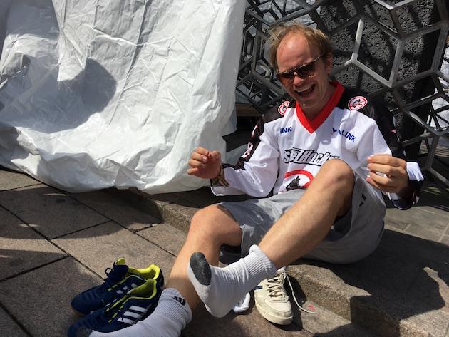 Dome Karukoski toimi pitkään valmentajana ja pelaajanakin Espoon Oilersissa. Kuva: Jussi Ojala