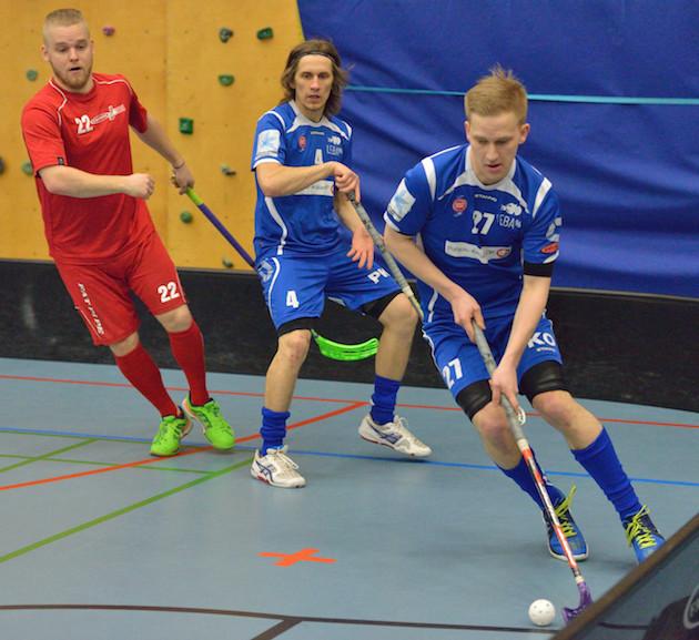 Tatu Könönen on tunnettu taitavana ja hanakasti laukovana pelaajana. Kuva: leba96.kuvat.fi