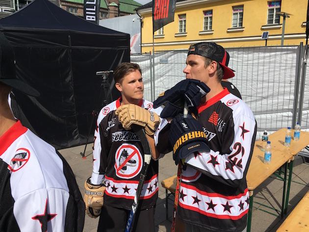 Jani Kukkola ja Jori Lehterä. Kuva: Jussi Ojala