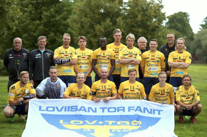 Loviisan Torin tuore joukkuekuva paljastaa yllättäviä nimiä. Kuva: Loviisan Tor.