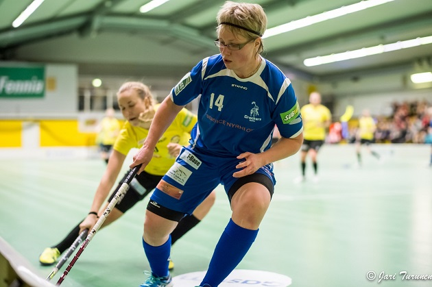 Lotta Vesterinen siirtyy takaisin Lappeenrantaan. Kuva: Jari Turunen