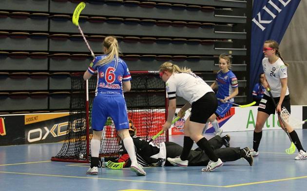 Milla Ranne (24, oik.) on ollut yksi TPS:n naisten joukkueen selkärangoista viime kausina. Kuva: Esa Takalo