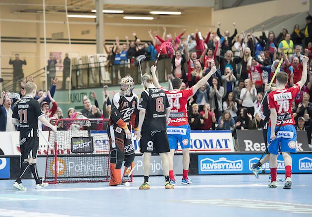 Salibandyn Champions Cup 2017  on uudistuksen ja laajennuksen kokevan Seinäjoki Areenan avajaistapahtuma. Kuva: Esa Jokinen