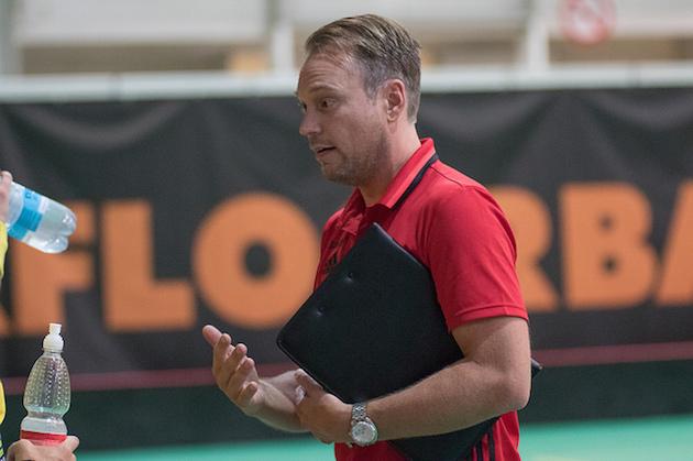 Hannes Öhman on nykyään mukana Storvretan valmennusryhmässä. Kuva: Topi Naskali.