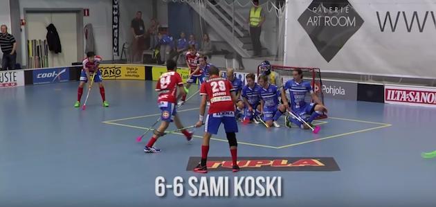 Sami Koski on yksi Suomen ovelimmista vaparin ampujista. Kuva: Kuvakaappaus videolta.