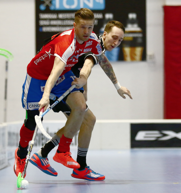 Mikko Kohonen on voittanut urallaan kolme Suomen mestaruutta ja kaksi maailmanmestaruutta. Kuva: Salibandyliiga