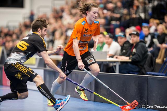 Rasmus Kainulainen oli vahvassa vireessä Polish Open -turnauksessa. Kuva: Jari Turunen