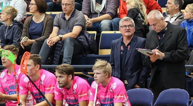 Classic tavoittelee luonnollisesti kultaa Champions Cupista. Miesten joukkue ei turnausta ole koskaan voittanut, eikä myöskään päävalmentaja Petteri Nykky. Kuva: Mika Hilska