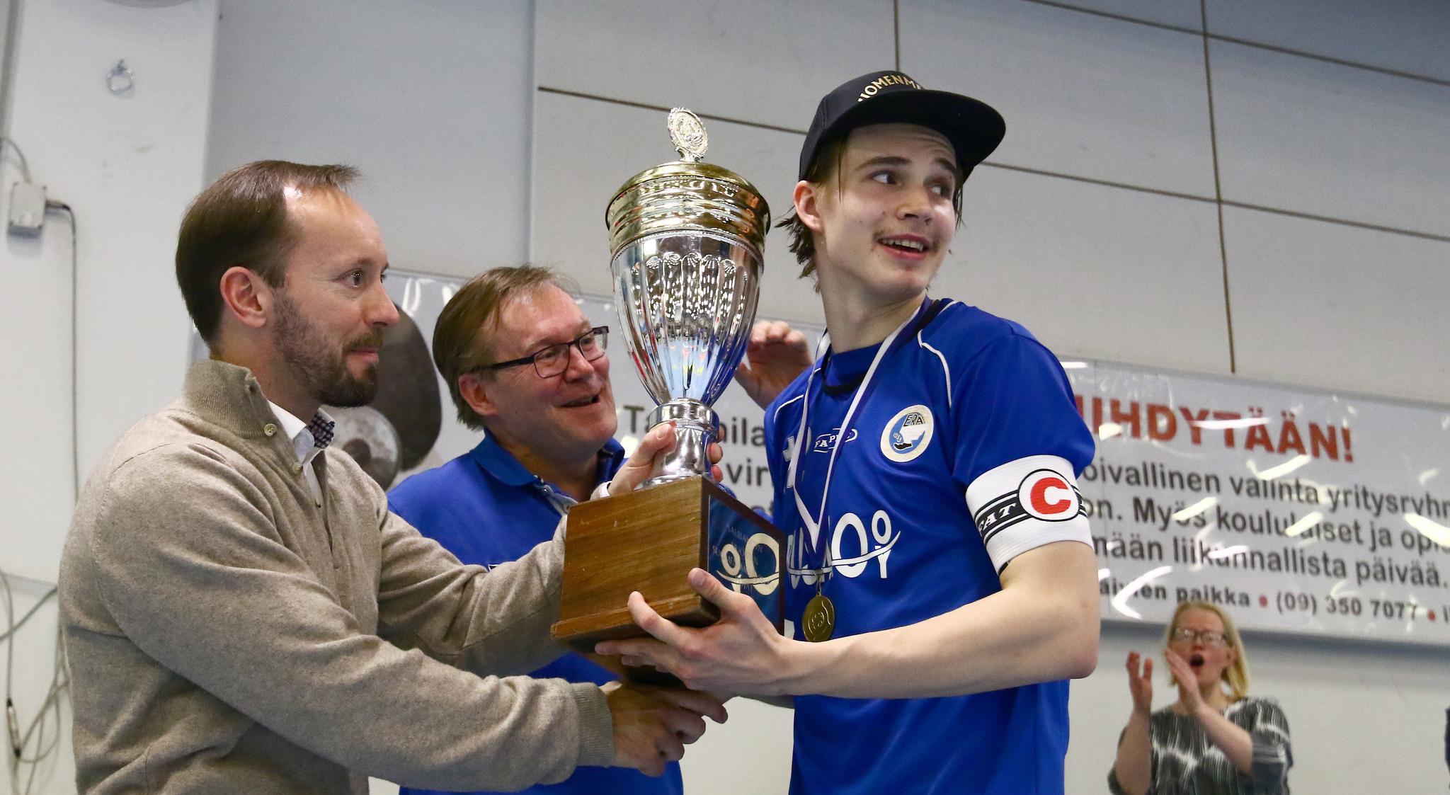 Tähän päättyi kausi 2015-2016. A-nuorissa luvassa mielenkiintoinen vuosi. Kuva: Juhani Järvenpää