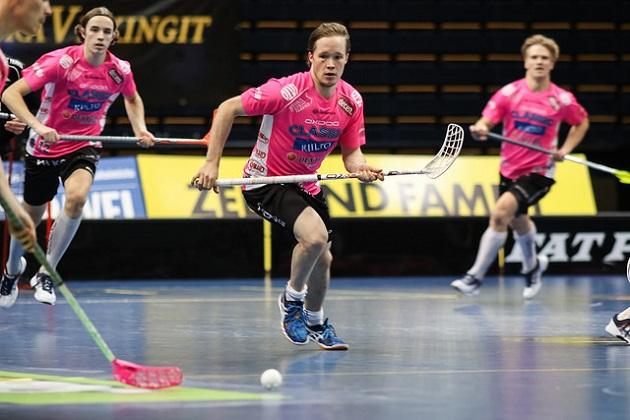 Krister Savonen on yksi Classicin tärkeimmistä pelaajista Champions Cupissa. Kuva: Mika Hilska