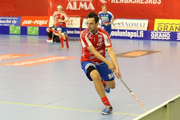 Sami Koski oli pirteällä pelipäällä OLS:aa vastaan. Kuva: Juha Käenmäki.