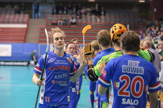 Sami Johansson osui tänään Boråsissa kahdesti. Kuva: IFF.