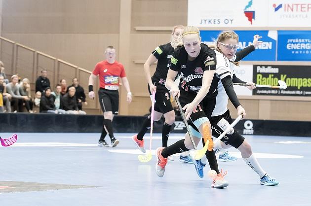 Happee otti kauden avausvoittonsa Jyväskylän paikalliskamppailussa, mutta nyt haaste on täysin toista luokkaa. Kuva: Esa Jokinen