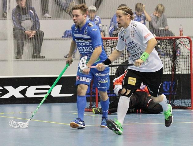Mikael Järvi (oik.) ja LASB kohtaavat EräViikingit ensi kertaa sunnuntaina Lahden Suurhallissa. Kuva: Anne Pohjonen