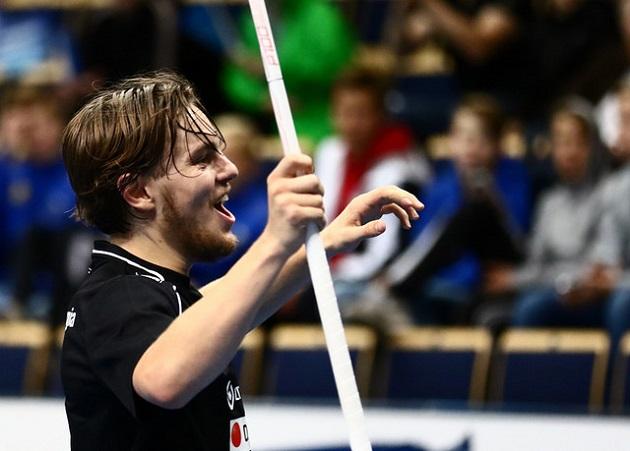Huippuvireinen Miko Kailiala pääsee lauantaina haastamaan SPV:n puolustuksen. Kuva: Juhani Järvenpää