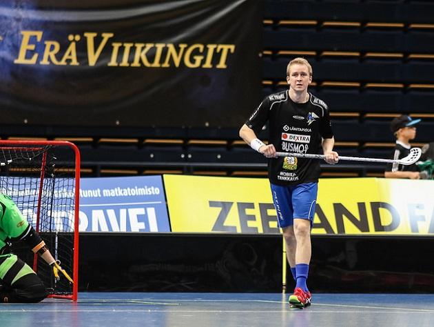 Mika Moilanen oli vahvassa iskussa EräViikinkien murskavoitossa. Kuva: Mika Hilska