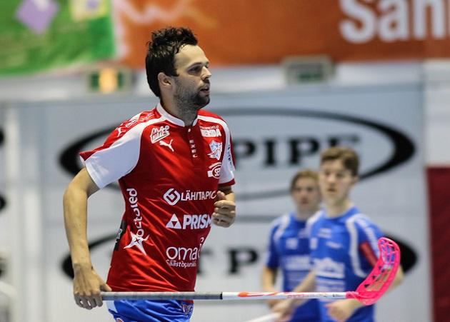Sami Koski oli kovassa iskussa Classicia vastaan. Kuva: Mika Hilska