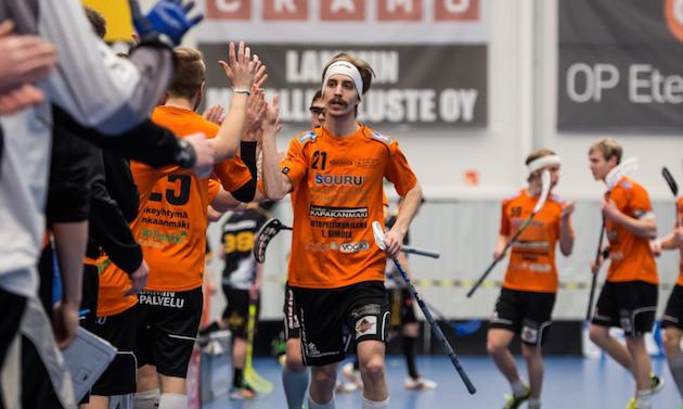 Tino Nivala petasi LASBille voiton. Arkistokuva: Jari Turunen.